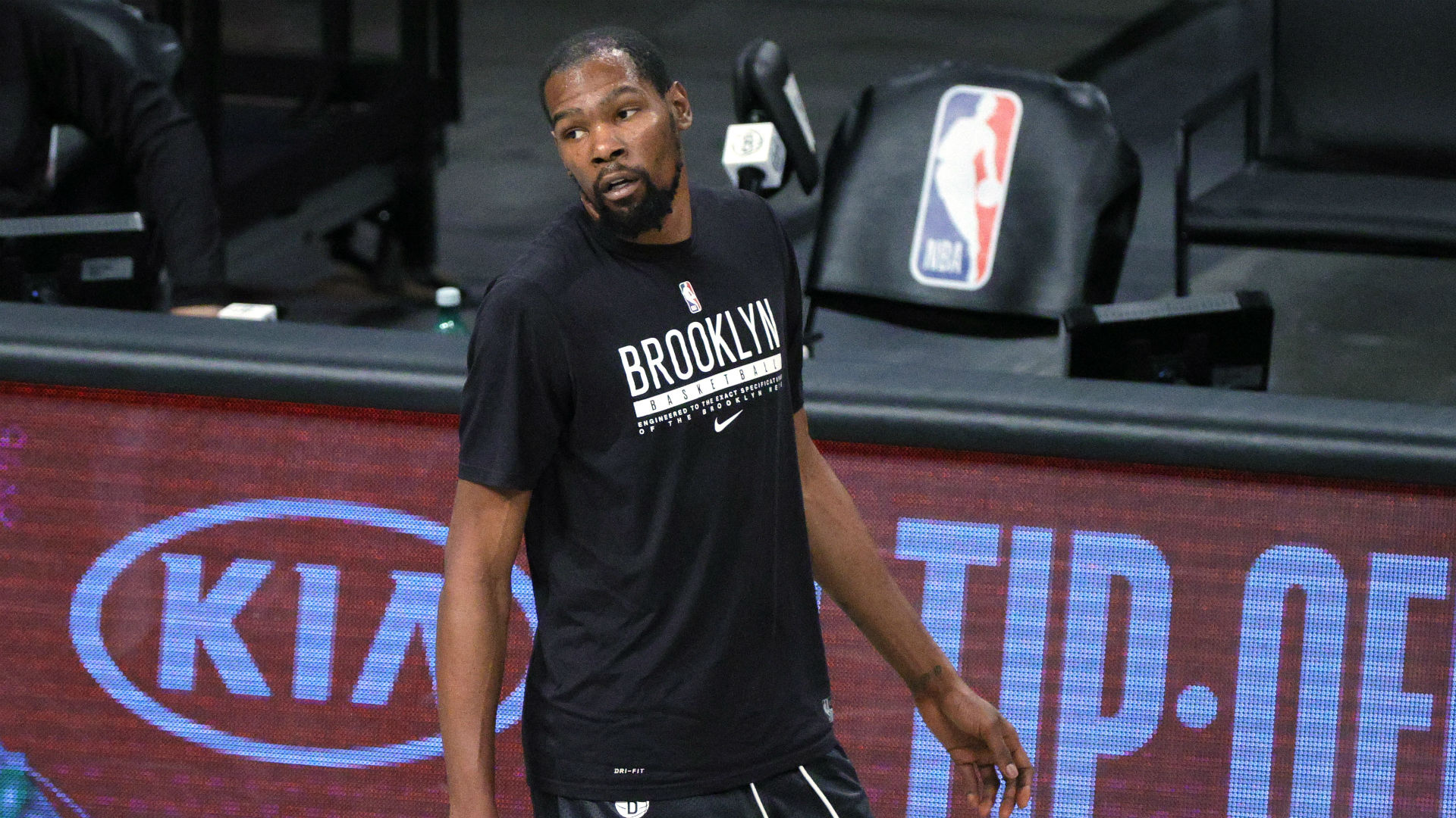 Nets' Kevin Durant removed midgame under NBA safety protocol; star blasts league's 'wack' statement