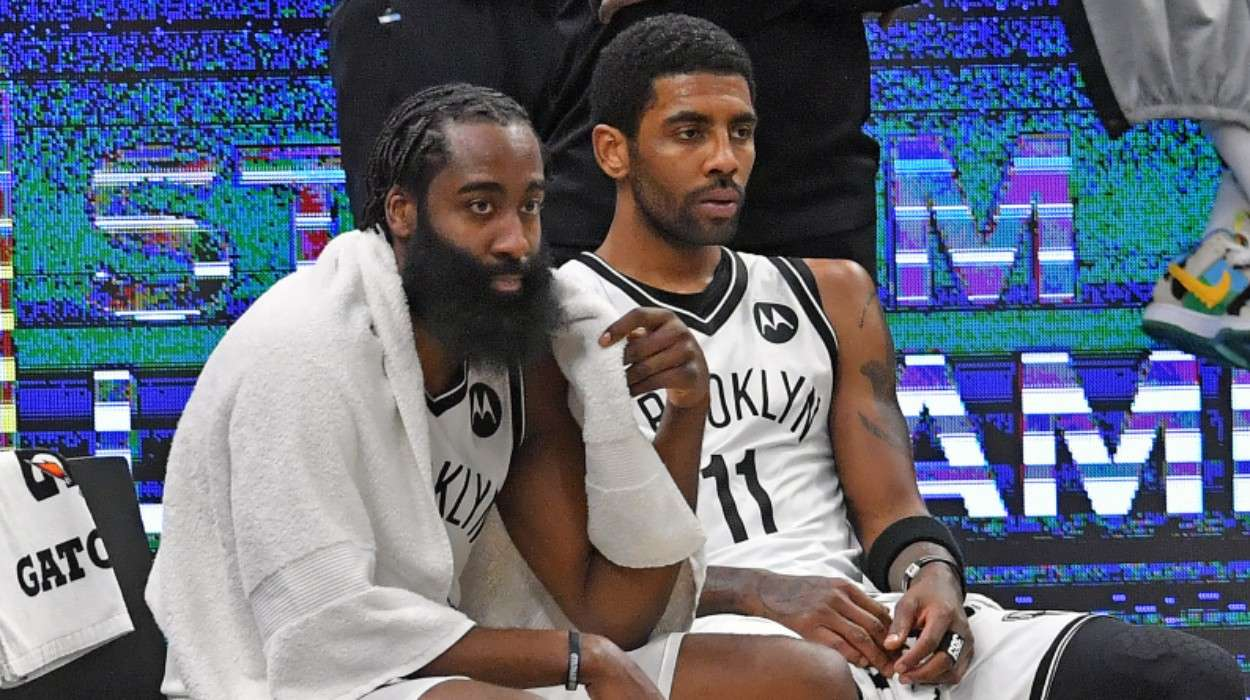 James Harden Kyrie Irving Brooklyn Nets