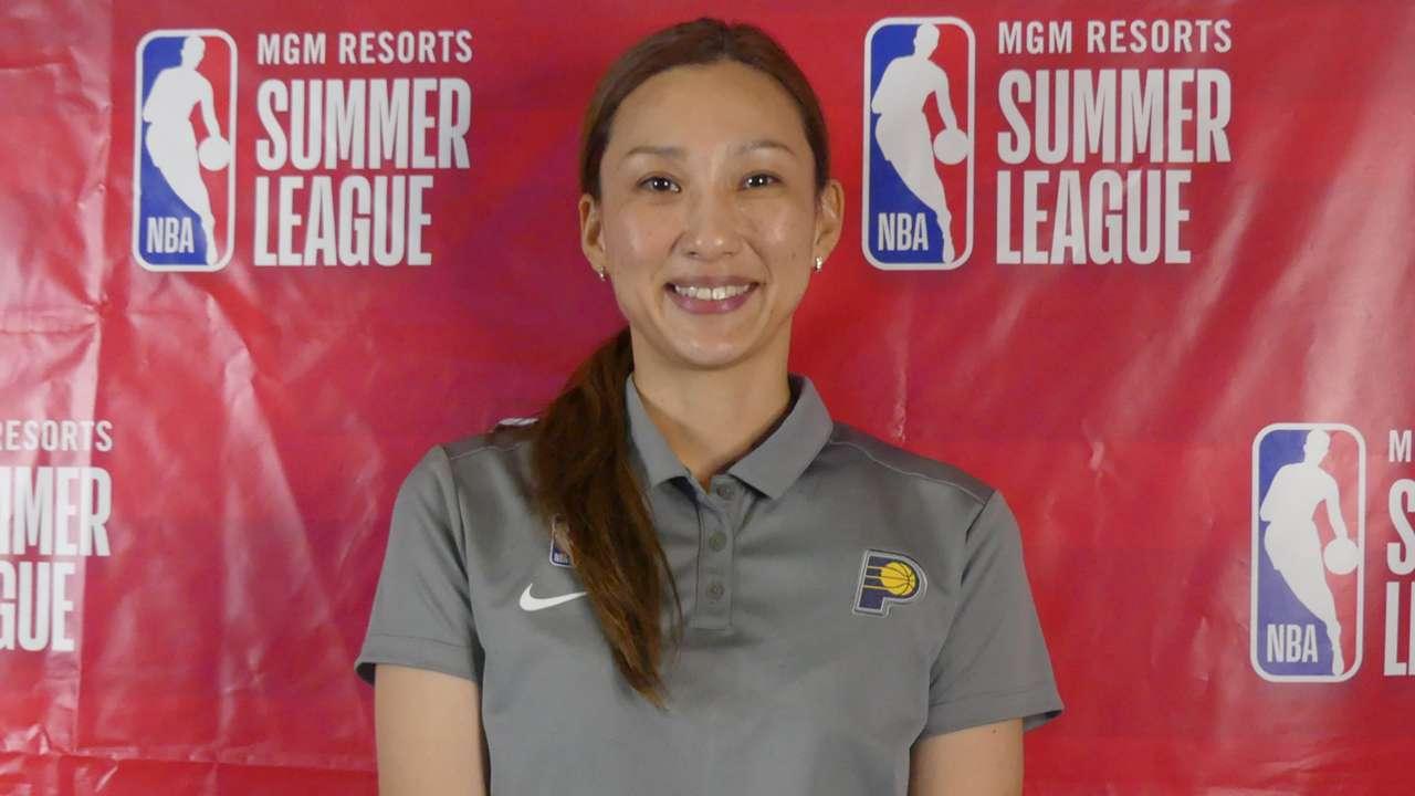 佐藤絢美 Ayami Sato NBA
