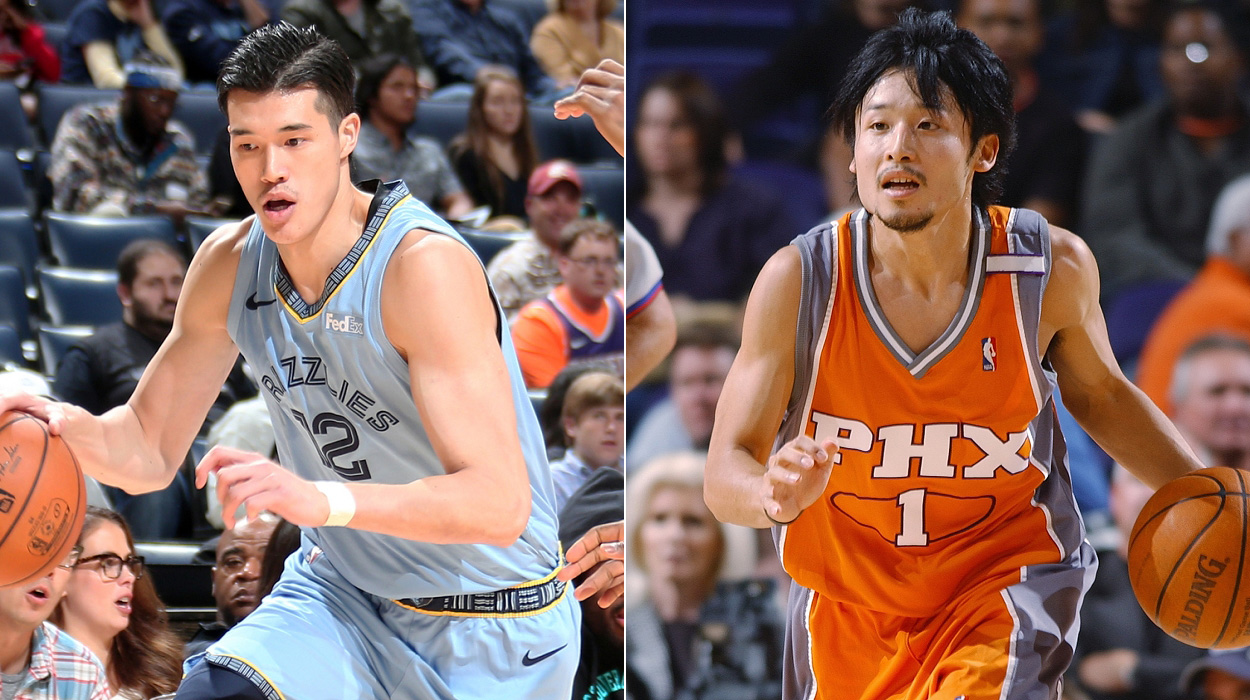 渡邊雄太 田臥勇太 Yuta Watanabe Yuta Tabuse Grizzlies Suns