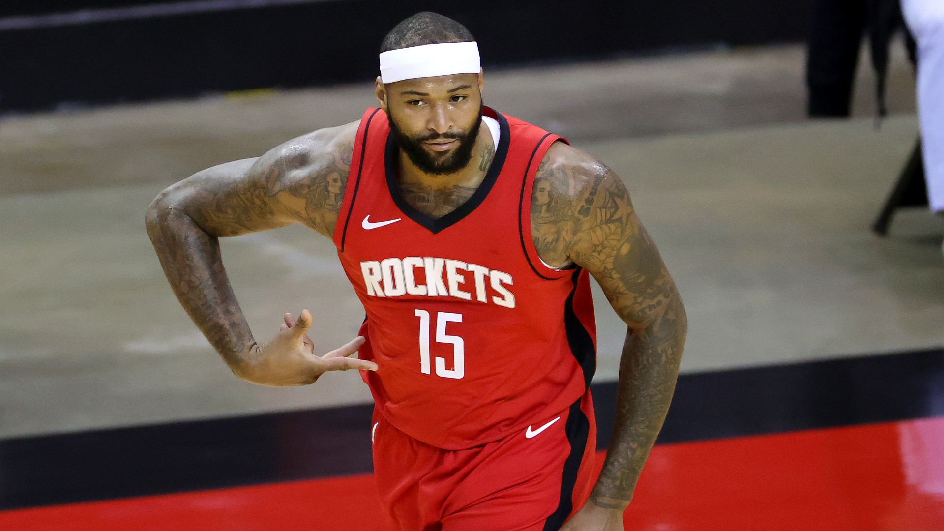 Rockets DeMarcus Cousins rips disrespectful James Harden Its completely unfair to us