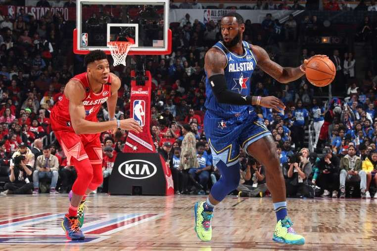 The 69th NBA All-Star Game