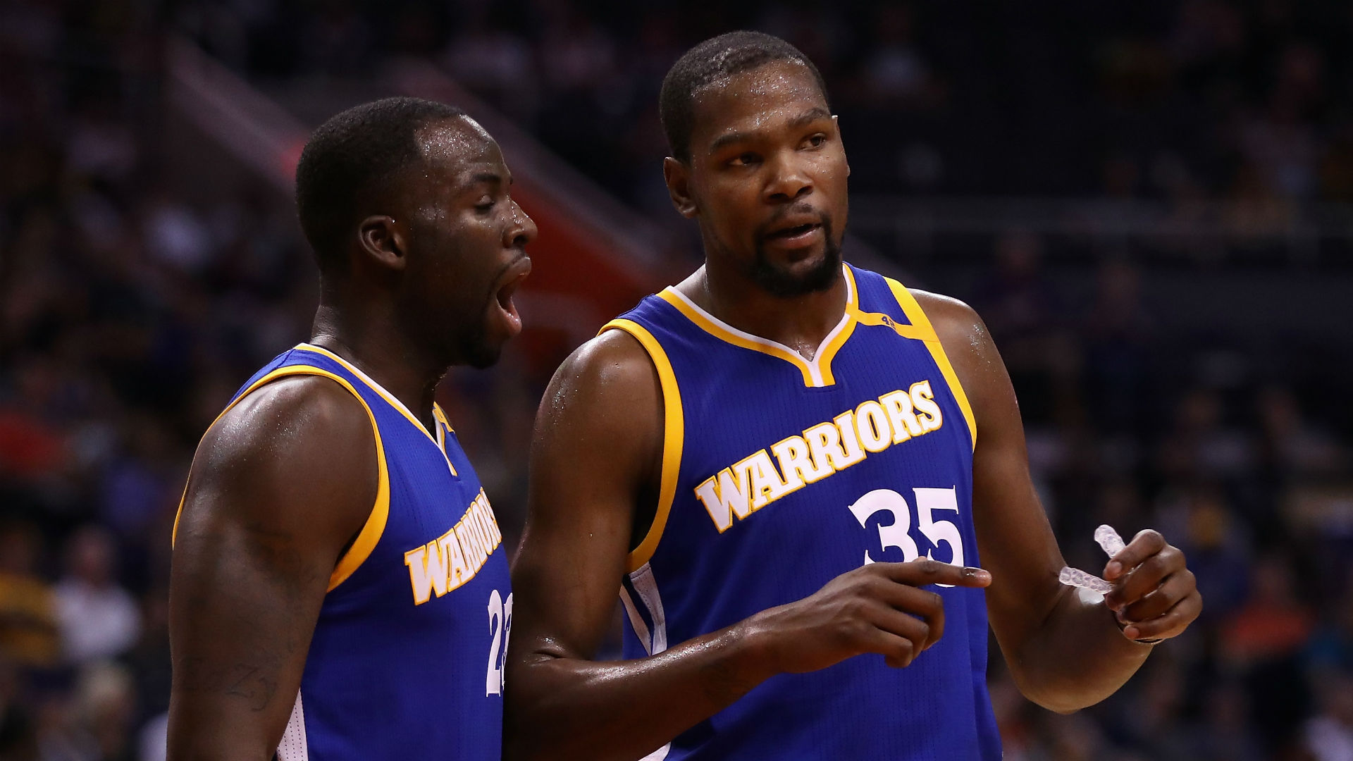 Kevin Durant and Draymond Green explain the conversation that eventually created the famous meme