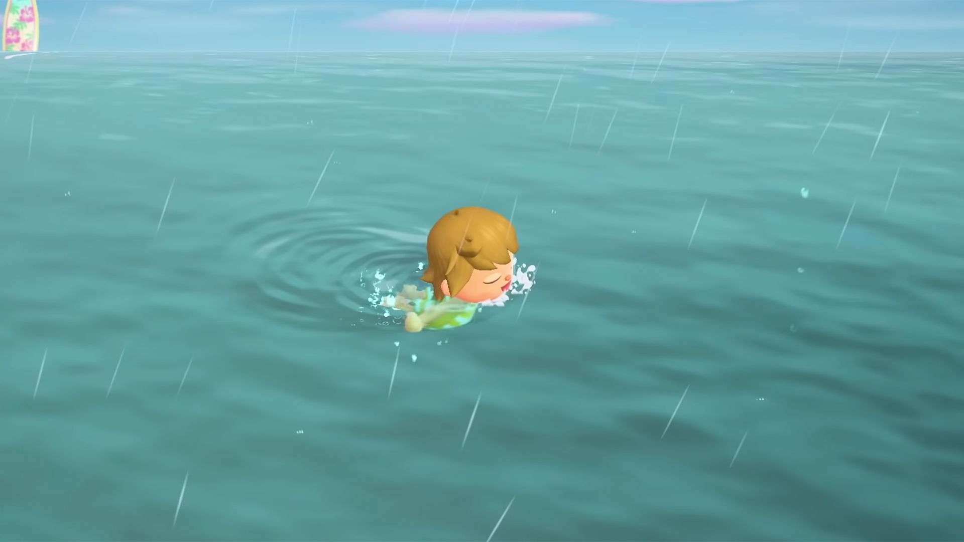 How to swim, buy wetsuit in Animal Crossing summer update
