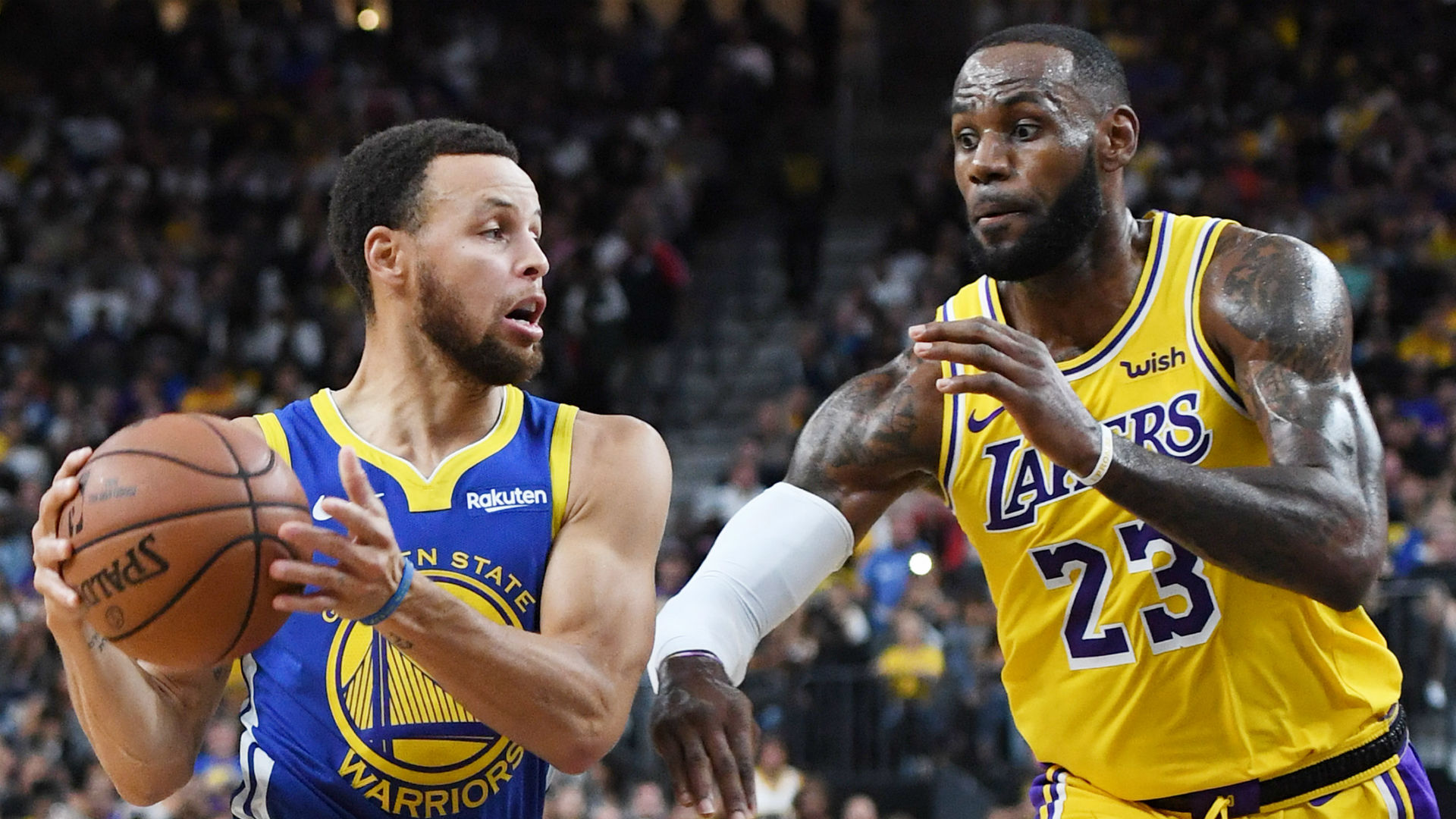 Warriors' Stephen Curry gives nod to potential play-in game vs. LeBron James, Lakers