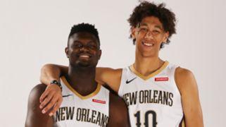 Zion Williamson Jaxson Hayes New Orleans Pelicans