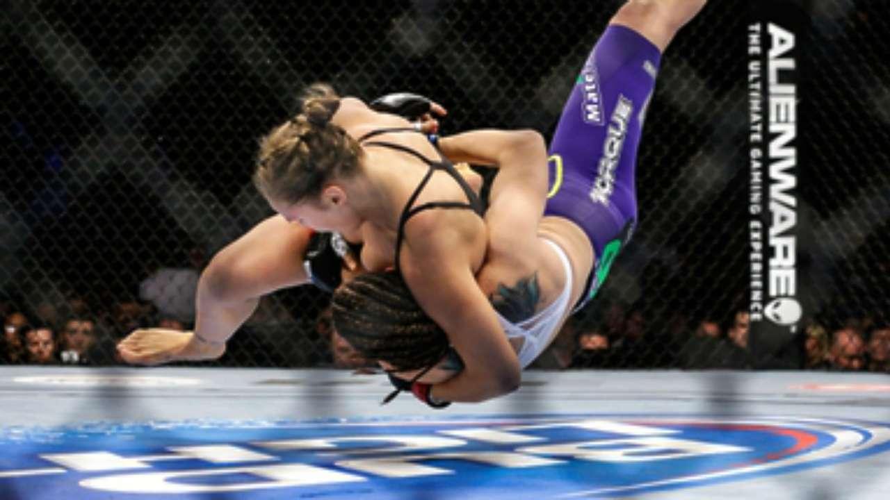 Ronda Rousey vs. Alexis Davis