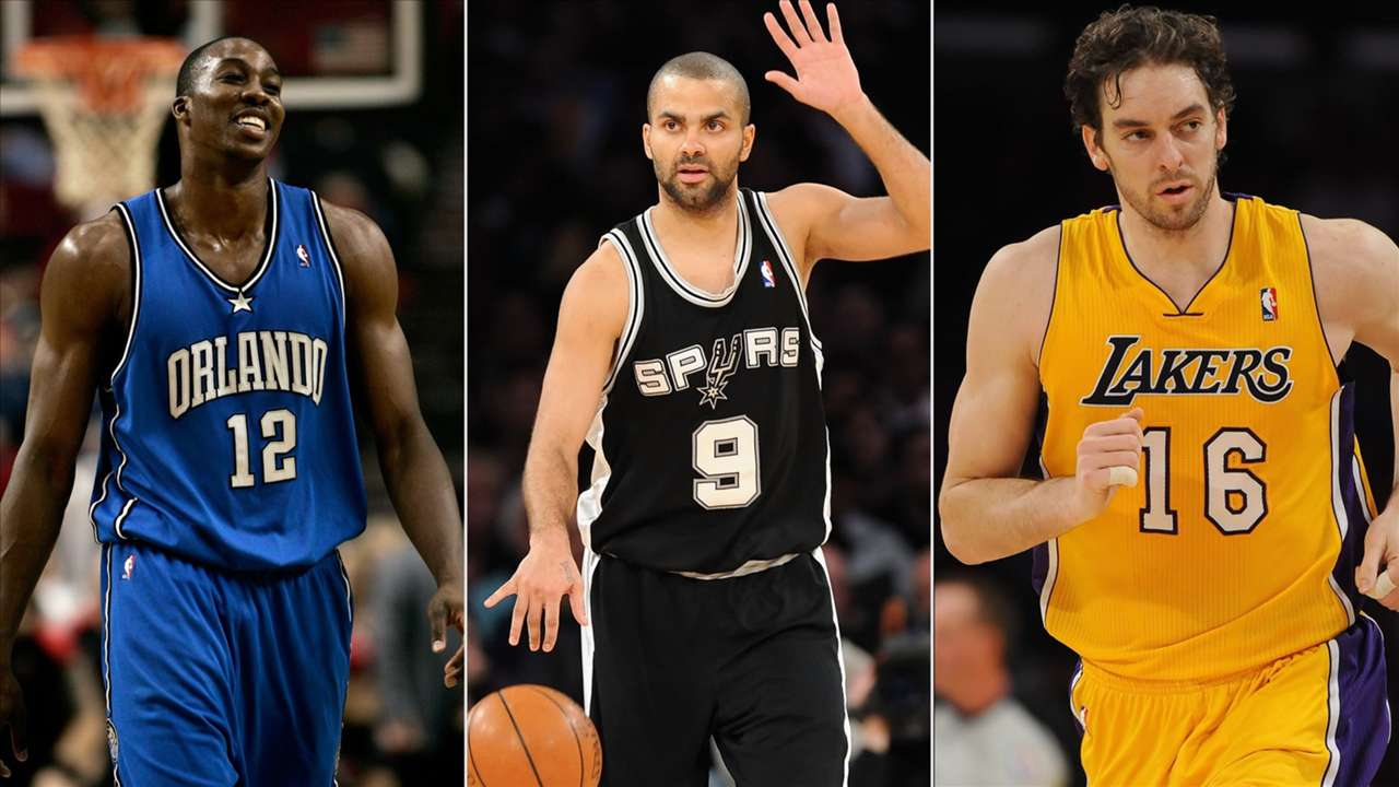Dwight Howard, Pau Gasol and Tony Parker were three of the snubs from the NBA 75 team.