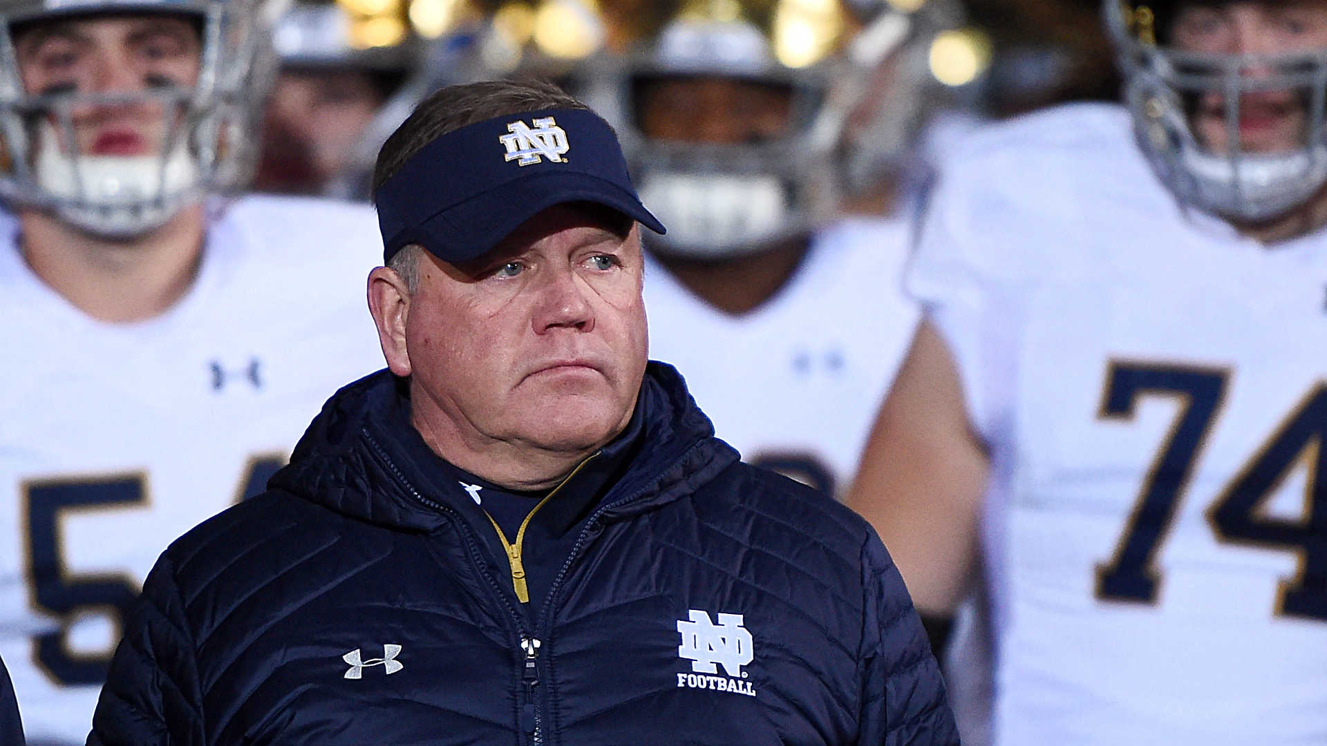 Notre Dame coach cites source of the team's COVID-19 outbreak