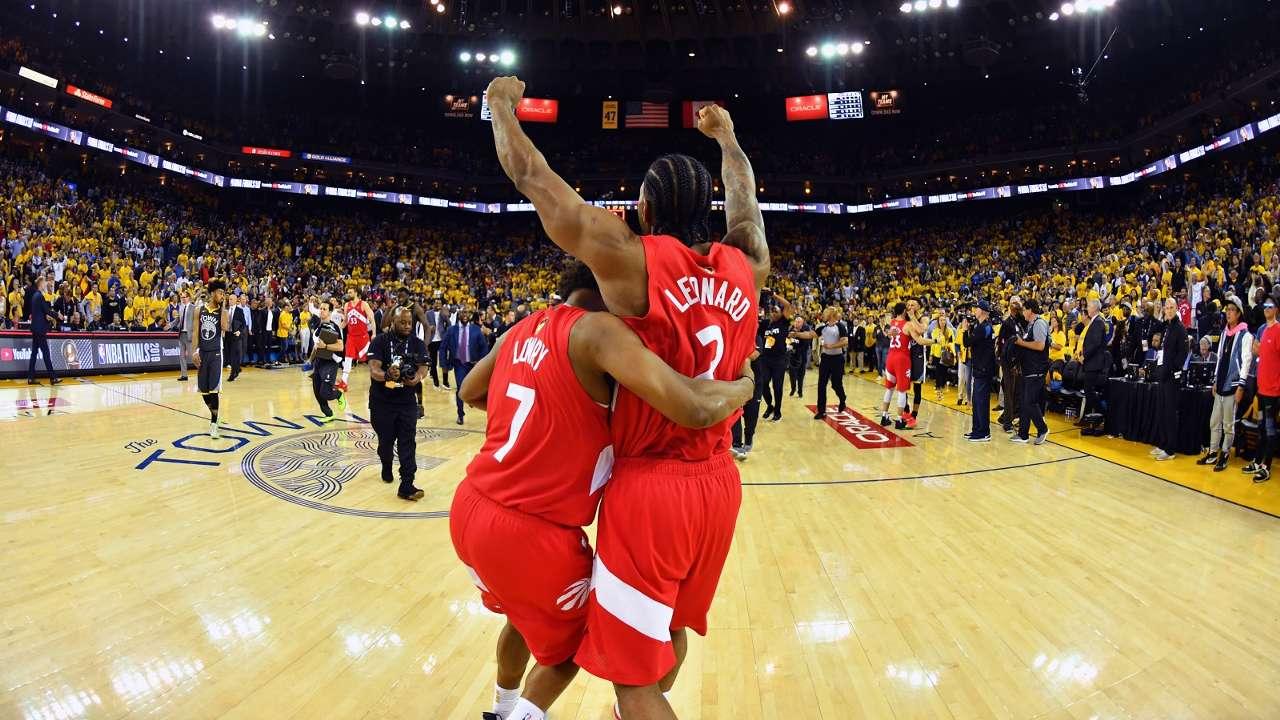 NBA Finals 2019 Game6 Kawhi Leonard Kyle Lowry Raptors