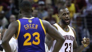 LeBron James Draymond Green warriors cavs NBA finals-61416-getty-ftr.jpg
