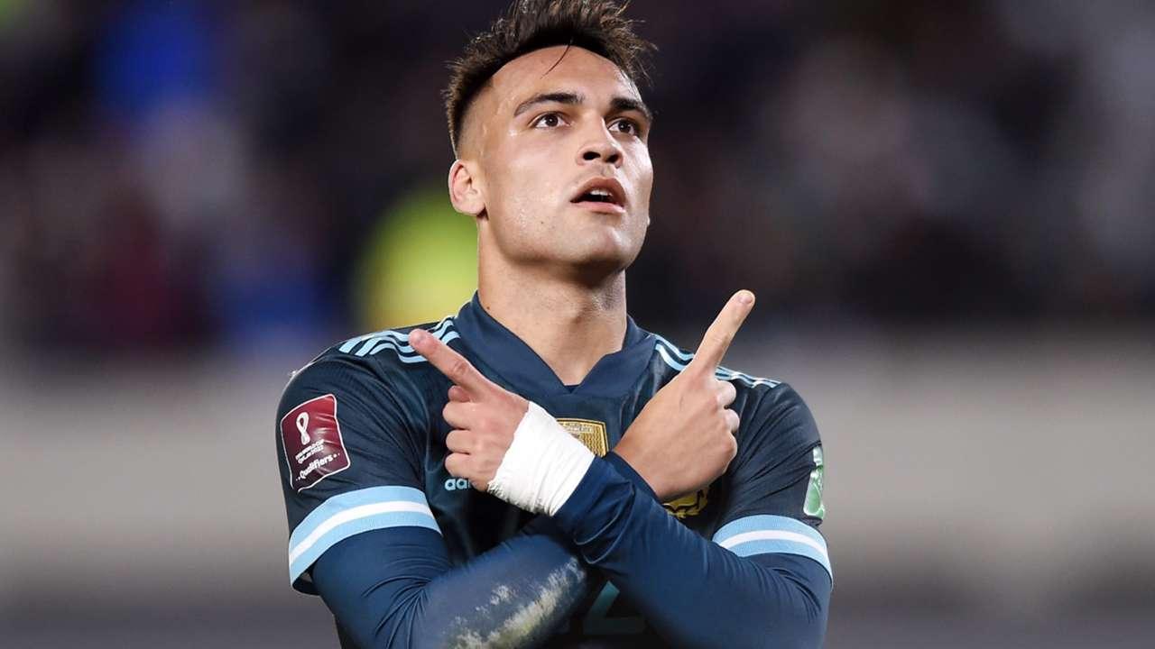 Lautaro Martinez - Argentina - October 14, 2021
