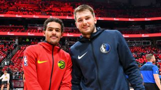 Trae Young Atlanta Hawks Luka Doncic Dallas Mavericks