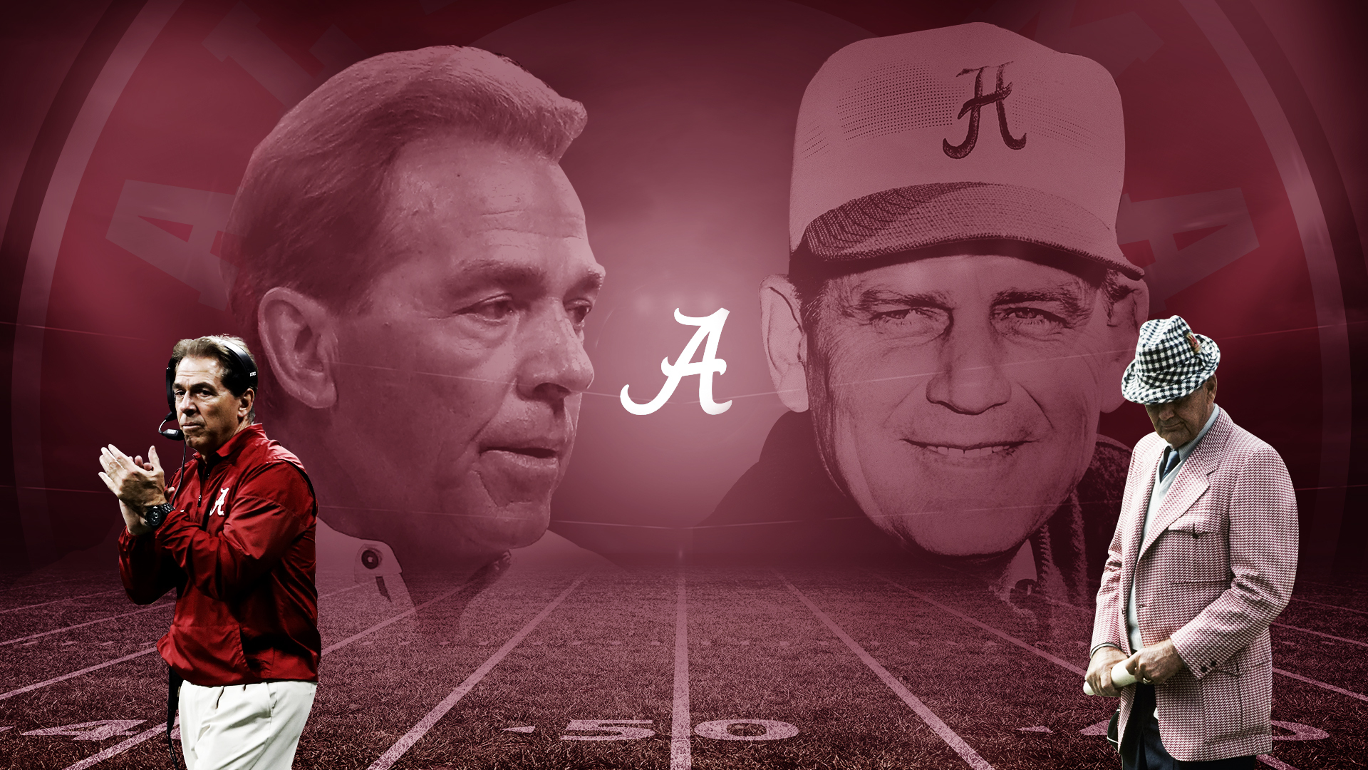 Nick Saban's respect for Bear Bryant extends beyond national championship record