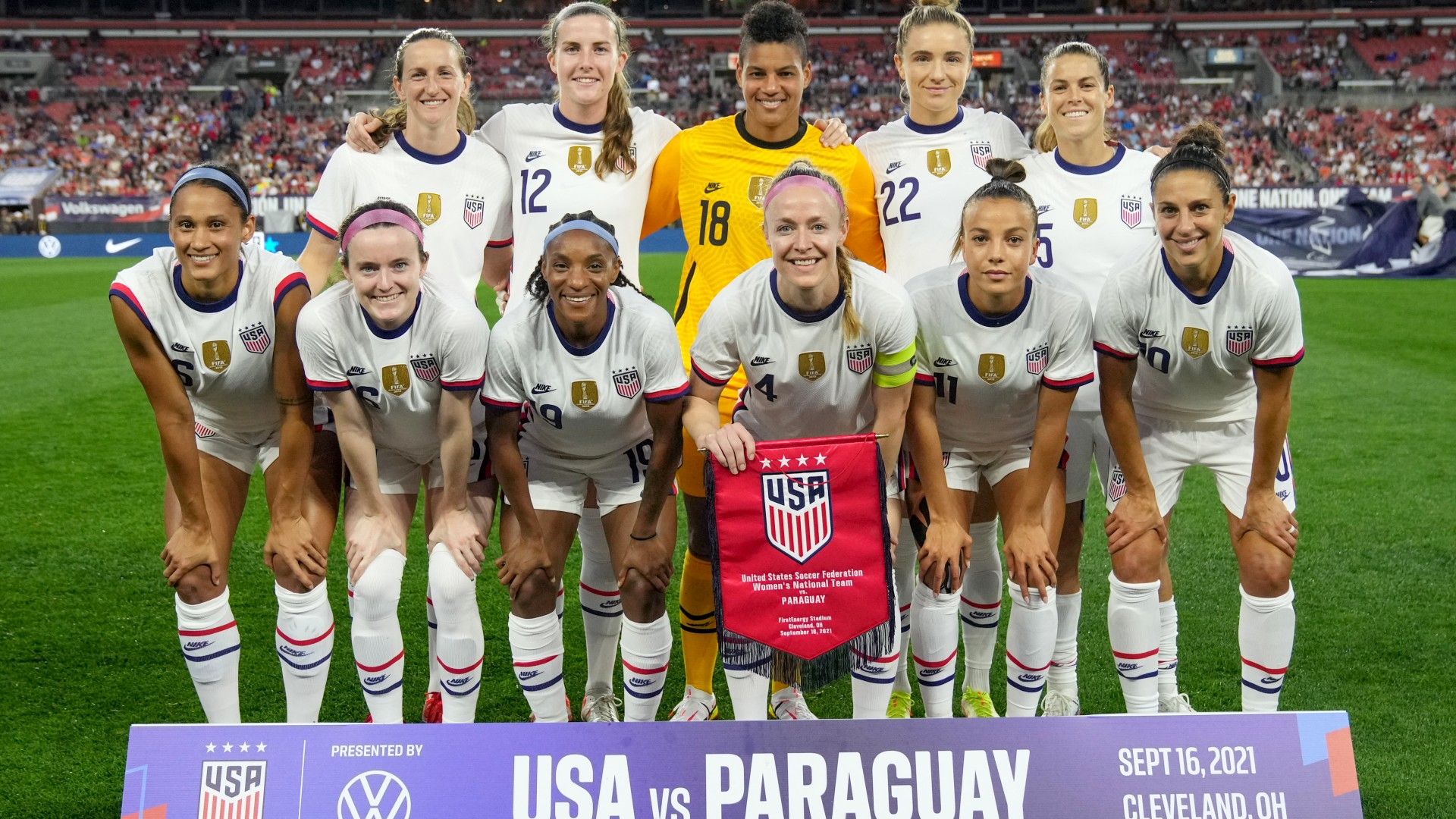 USWNT vs. Paraguay: time, channel, TV, stream to watch the international friendly