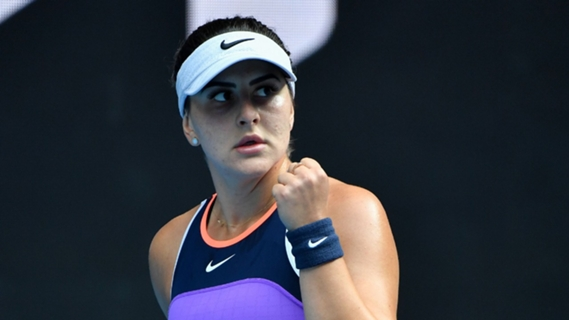Australian Open 2021: Bianca Andreescu escapes with narrow victory over Mihaela Buzarnescu