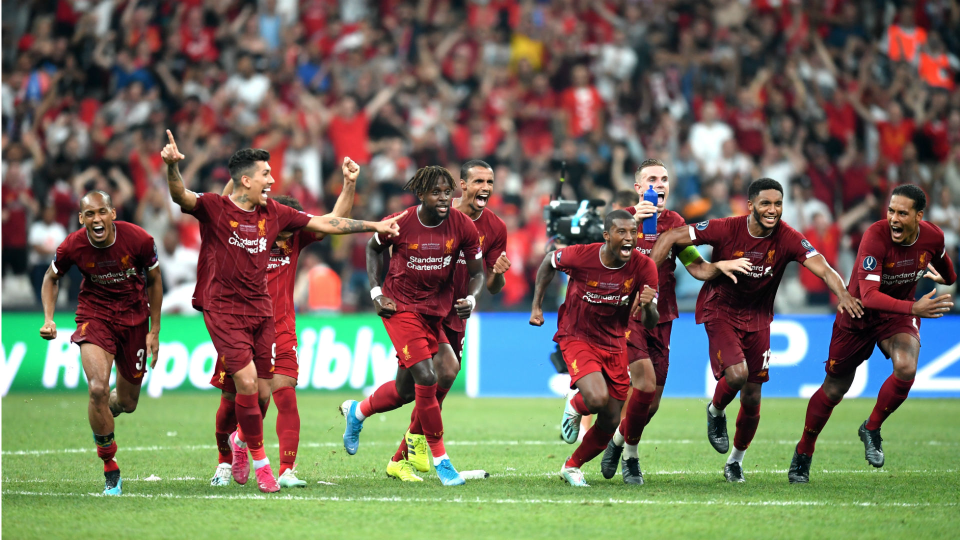 Liverpool Vs Chelsea Results Final Score Highlights From 2019 Uefa Super Cup Sporting News