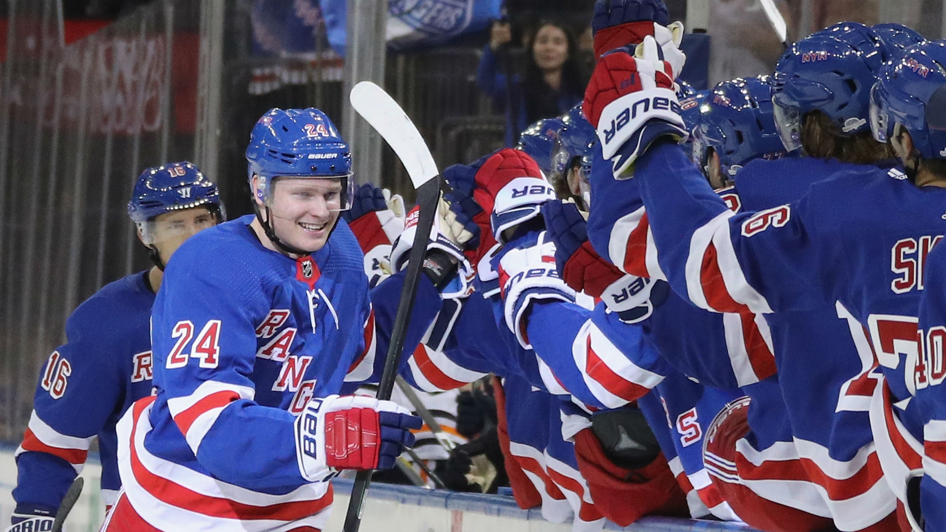 New York Rangers Kaapo Kakko Nets First Nhl Goal And It S A