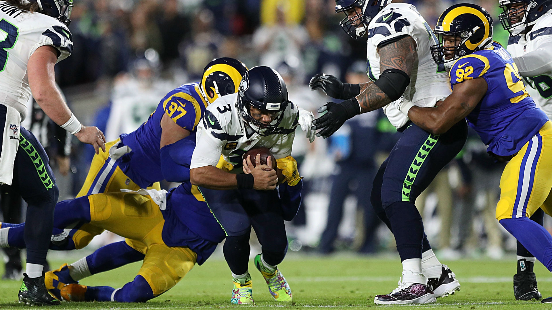 Seahawks Vs Rams Final Score Seattle S Offense Stifled In Crucial Loss Sporting News