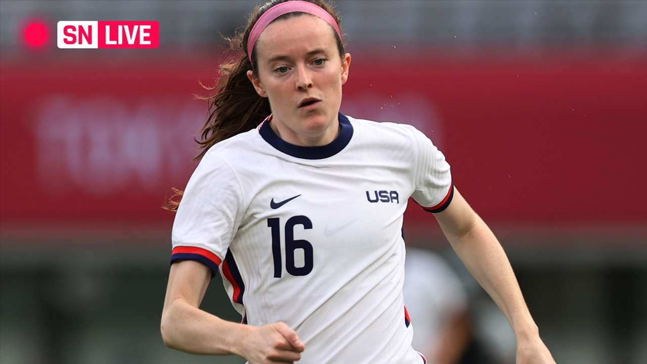 LIVE - Rose Lavelle - USWNT - 2021 Olympics