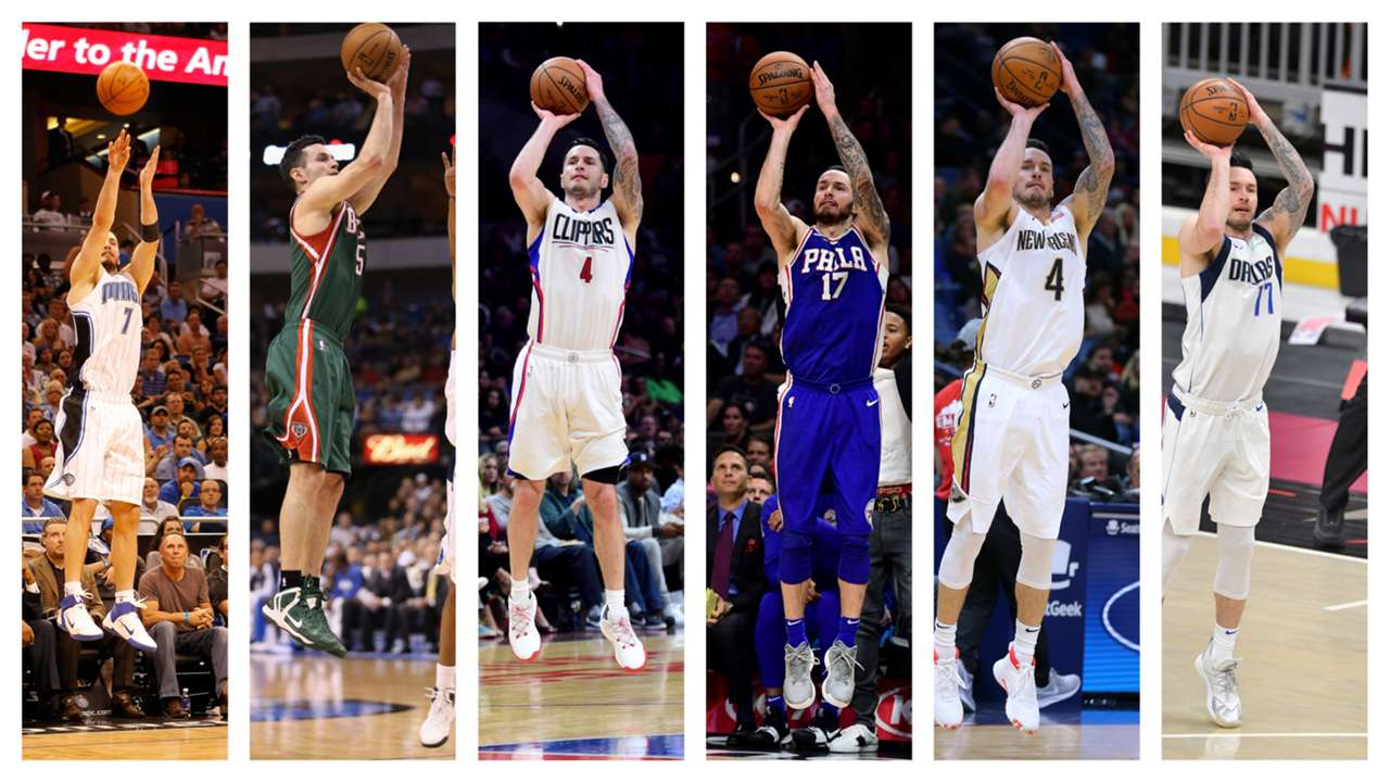 J.J. Redick ranks among the most prolific shooters in NBA history.