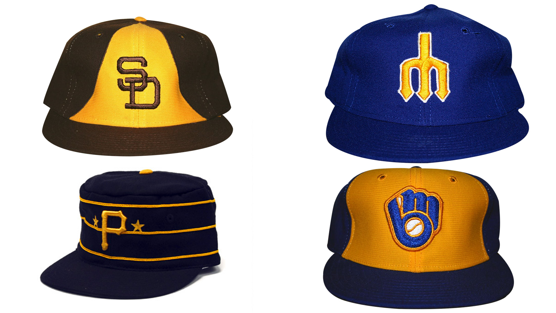 1970s baseball caps