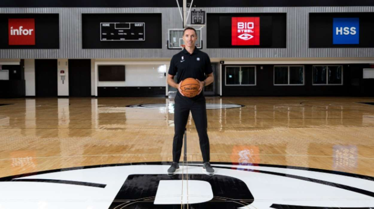 Brooklyn Nets Steve Nash