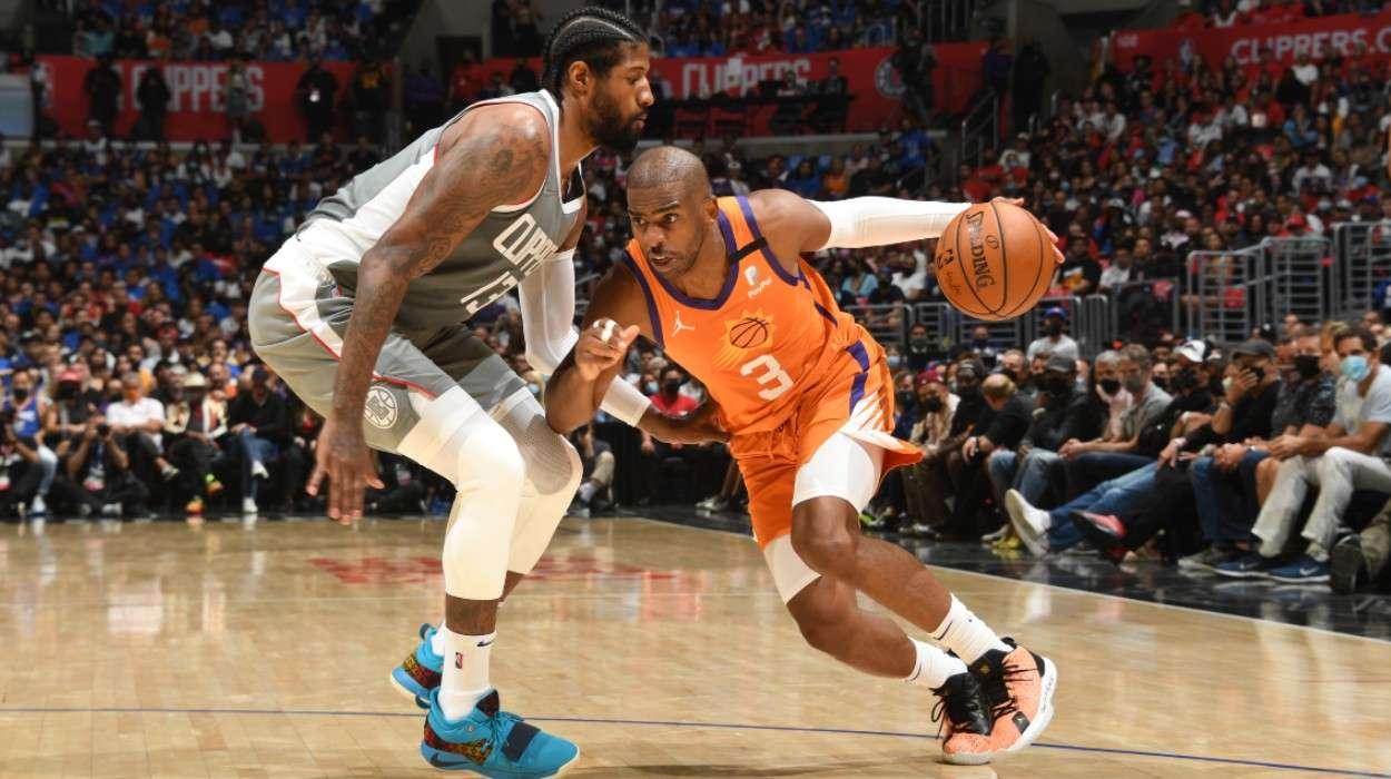 Chris Paul Phoenix Suns Paul George LA Clippers
