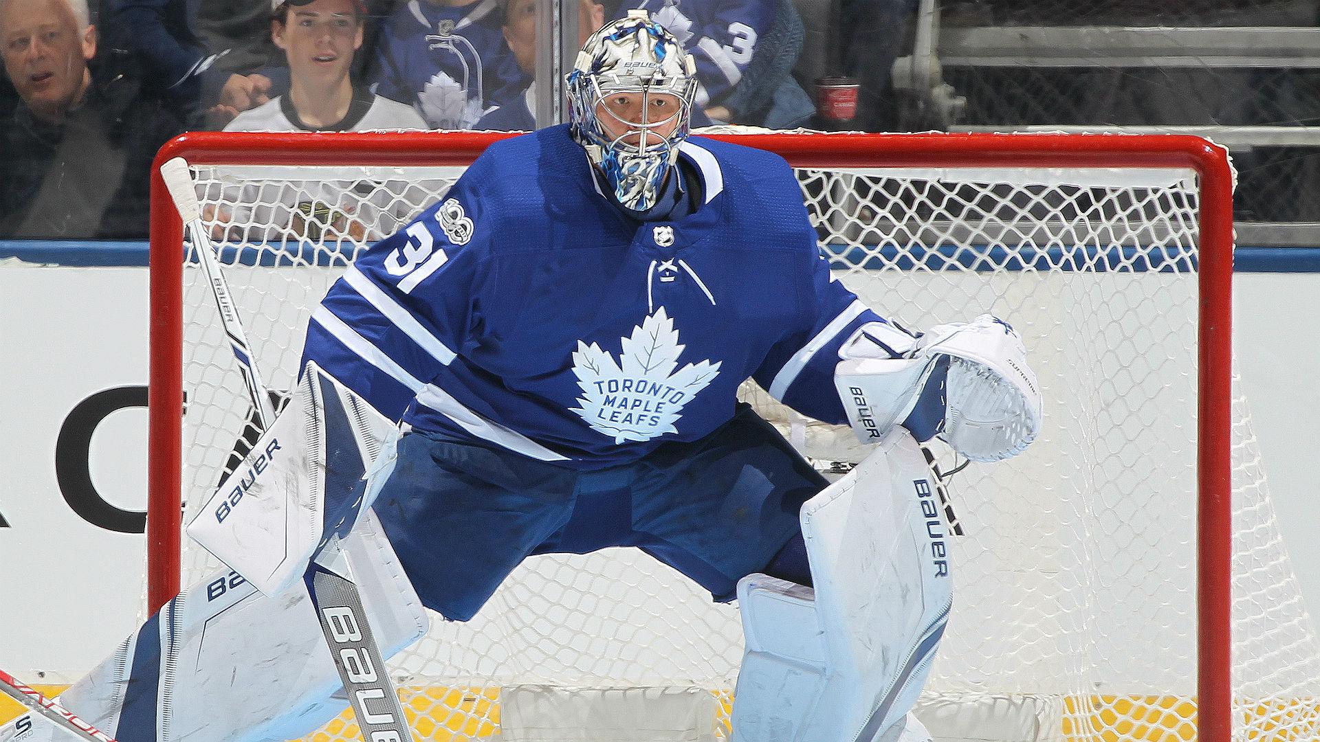 Andersen Wins 38th A New Maple Leafs Single Season Record Sporting News Canada