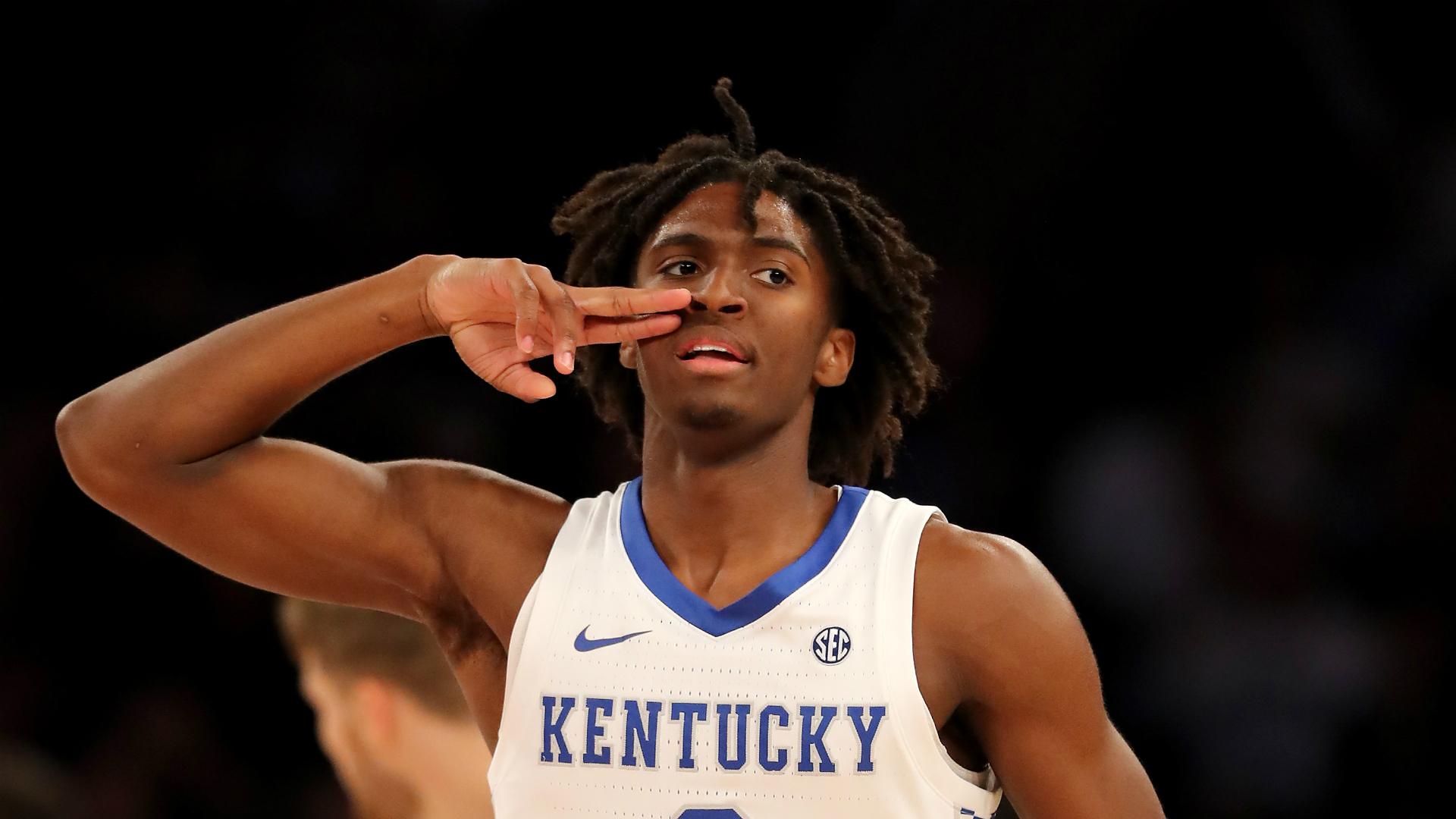 Nba Draft Prospect Roundup Kentucky S Tyrese Maxey Shines Duke Stars Struggle At Champions Classic Sporting News