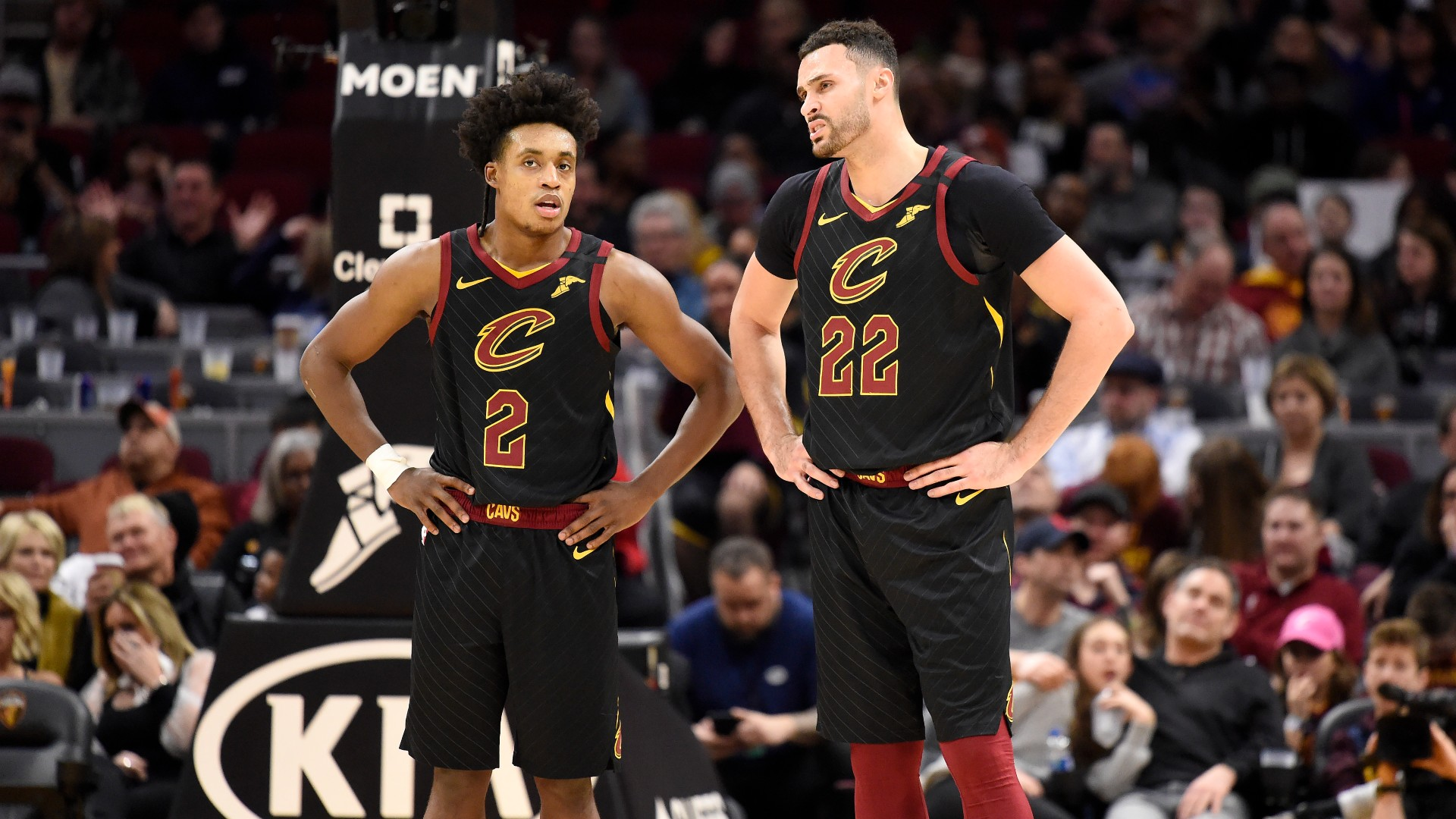 Larry Nance Jr. defends former Cavs teammate Collin Sexton, calls anonymous scout 'a moron'