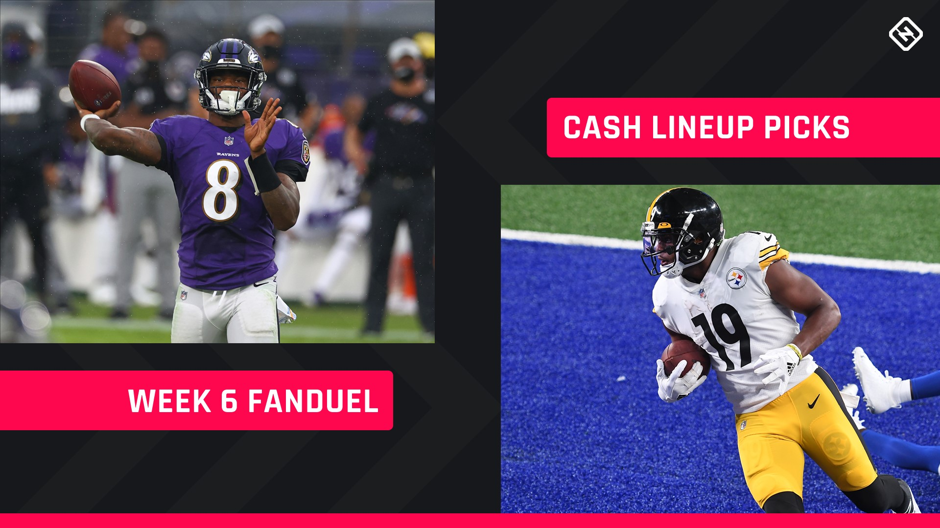 FanDuel Picks Week 6: NFL DFS lineup advice for daily fantasy football cash games