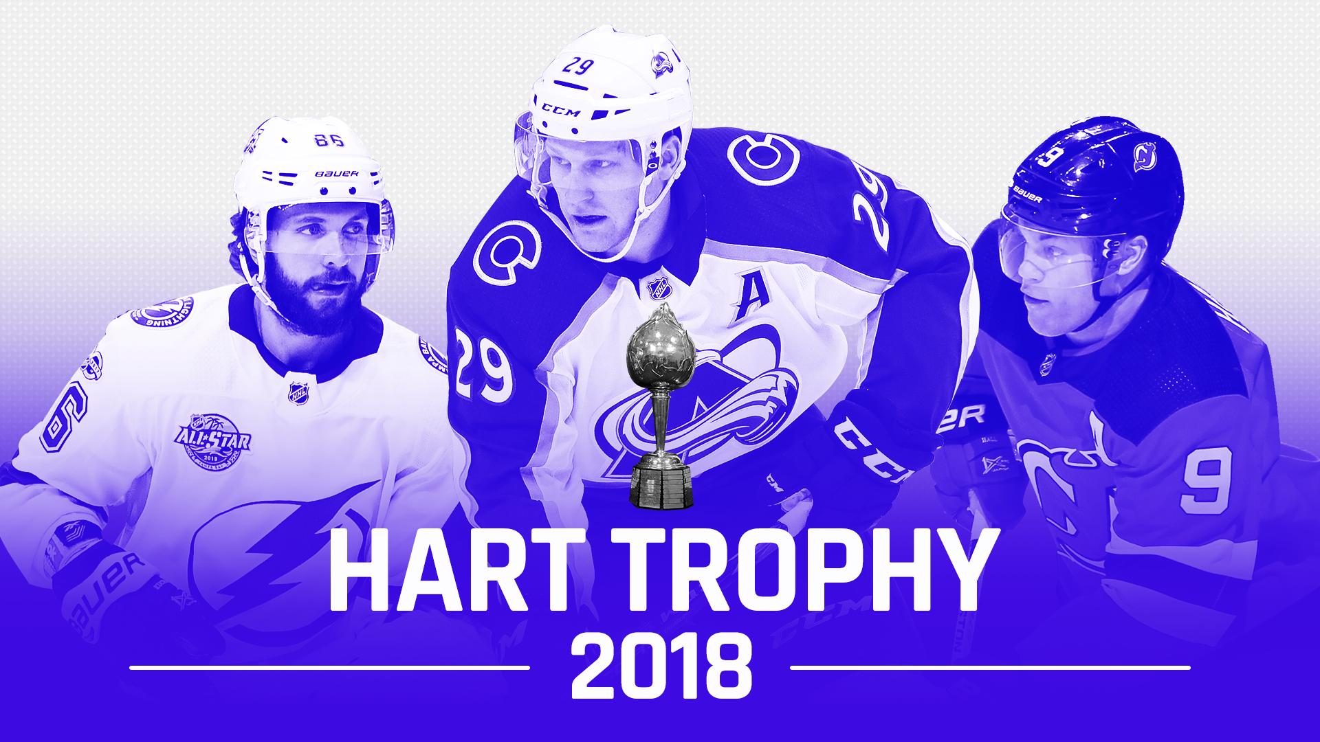 NHL Hart Trophy race: Nathan MacKinnon, Taylor Hall hold ...