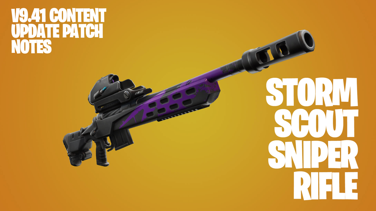 How Does Fortnite S New Storm Scout Sniper Rifle Compare To Other Snipers Sporting News