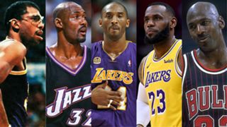 The top scorers in NBA history
