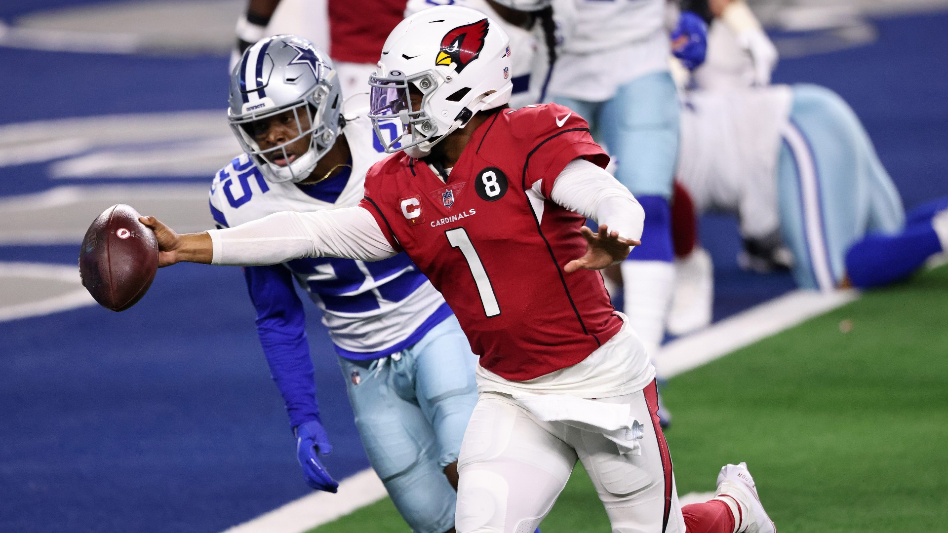 Kyler Murray explains why he wasn't a Cowboys fan growing up: 'They were always ass'