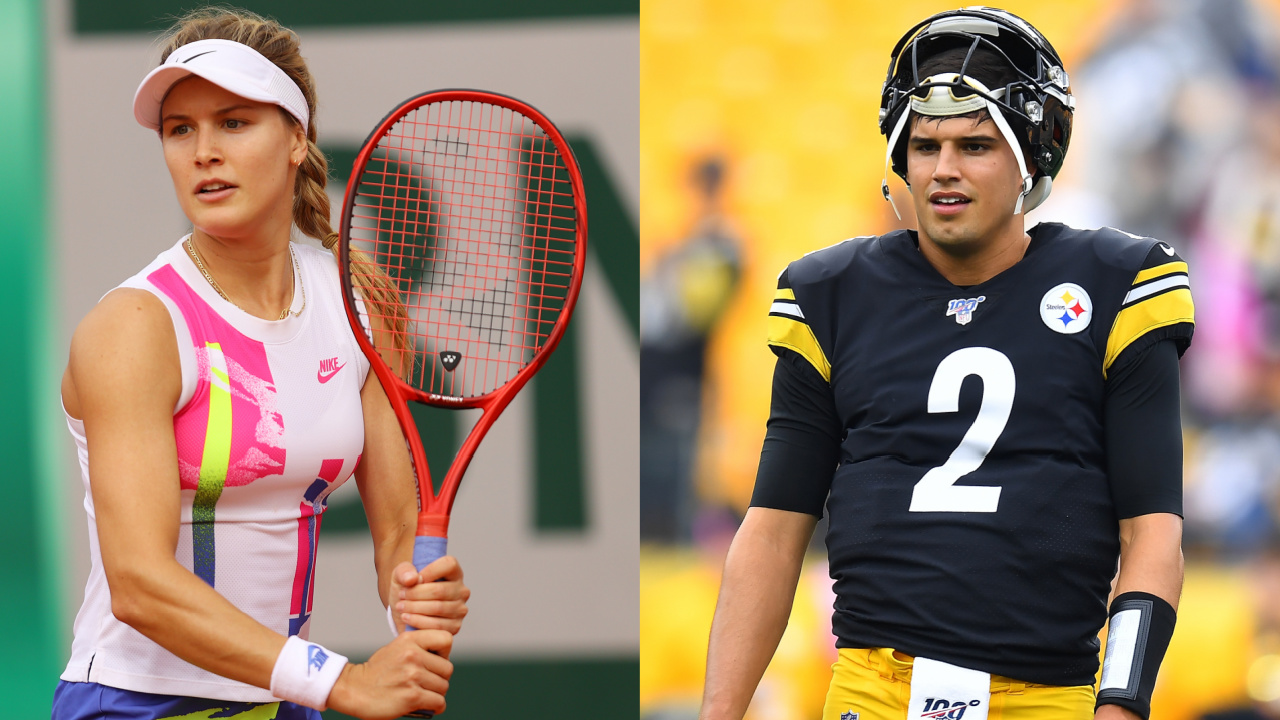 Steelers quarterback Mason Rudolph in serious relationship with Eugenie Bouchard