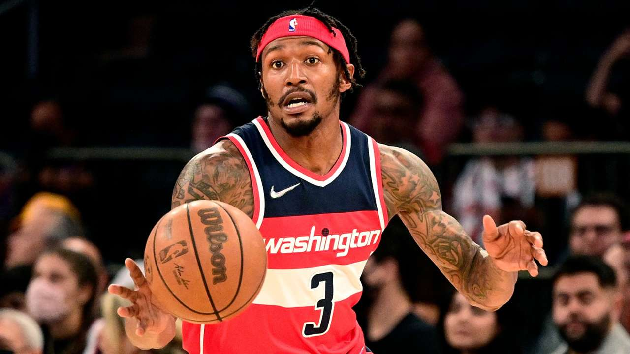 Bradley Beal exited the preseason game against New York with a knee contusion