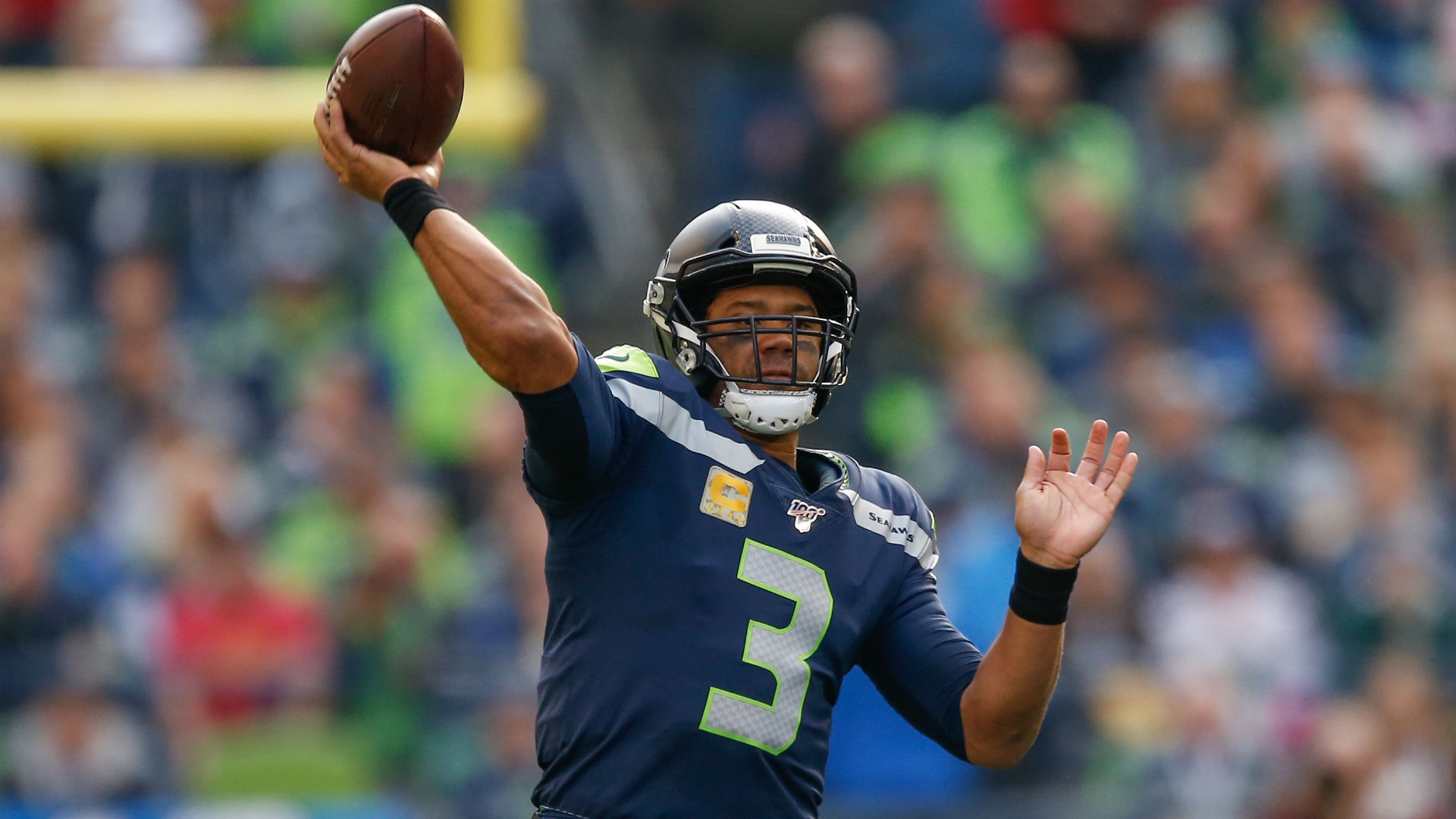 Brandon Marshall details Russell Wilson-Seahawks drama: 'I know they don't believe in him'