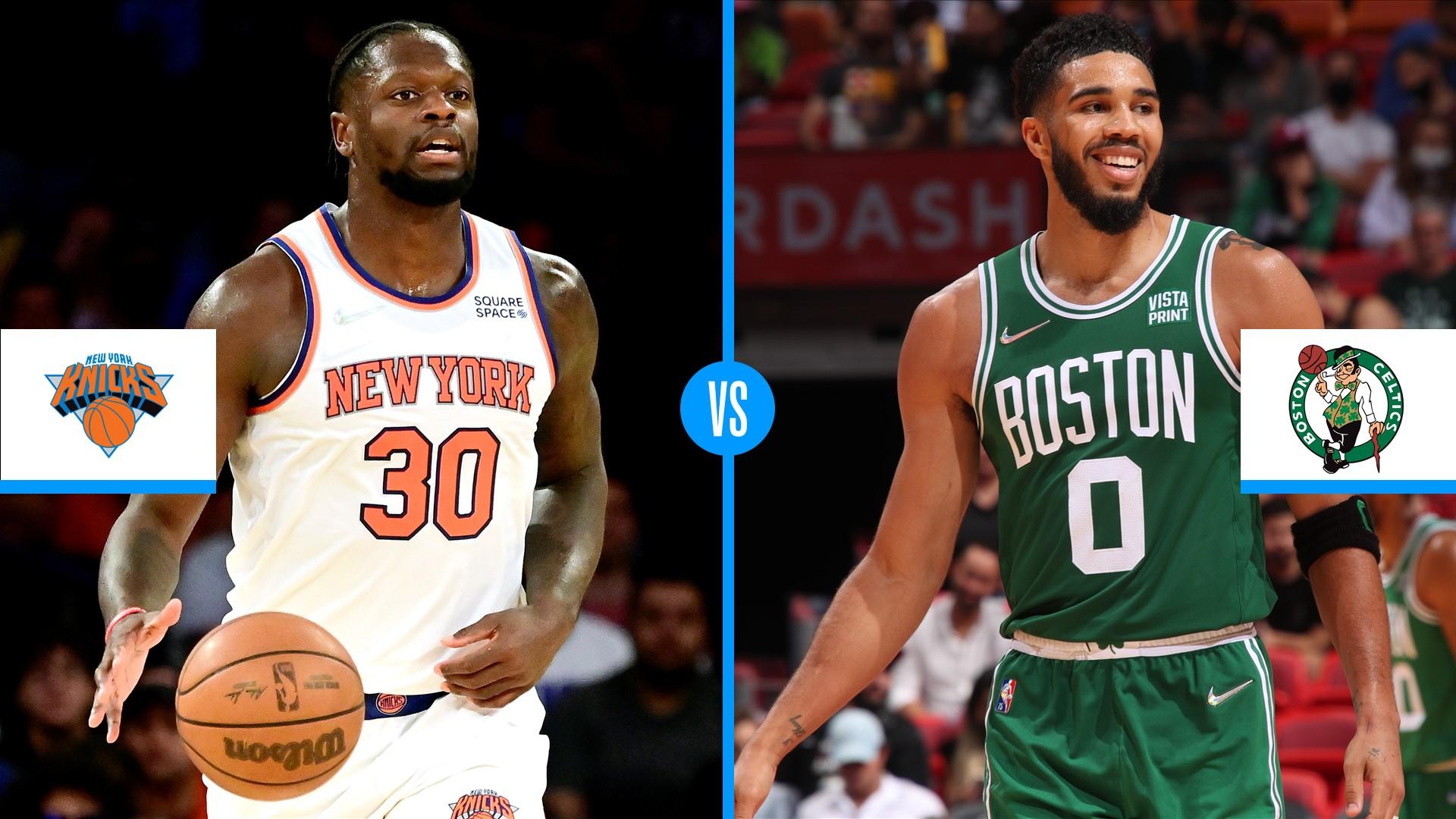 Knicks vs. Celtics live score, updates, highlights from 2021 season-opening NBA game
