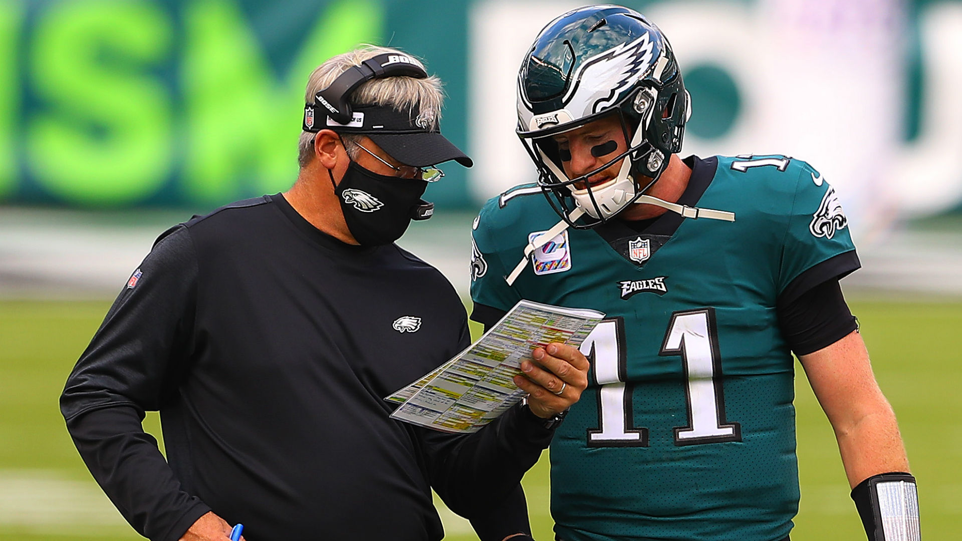 Why don't the Eagles bench Carson Wentz? The NFC East race is the easy answer