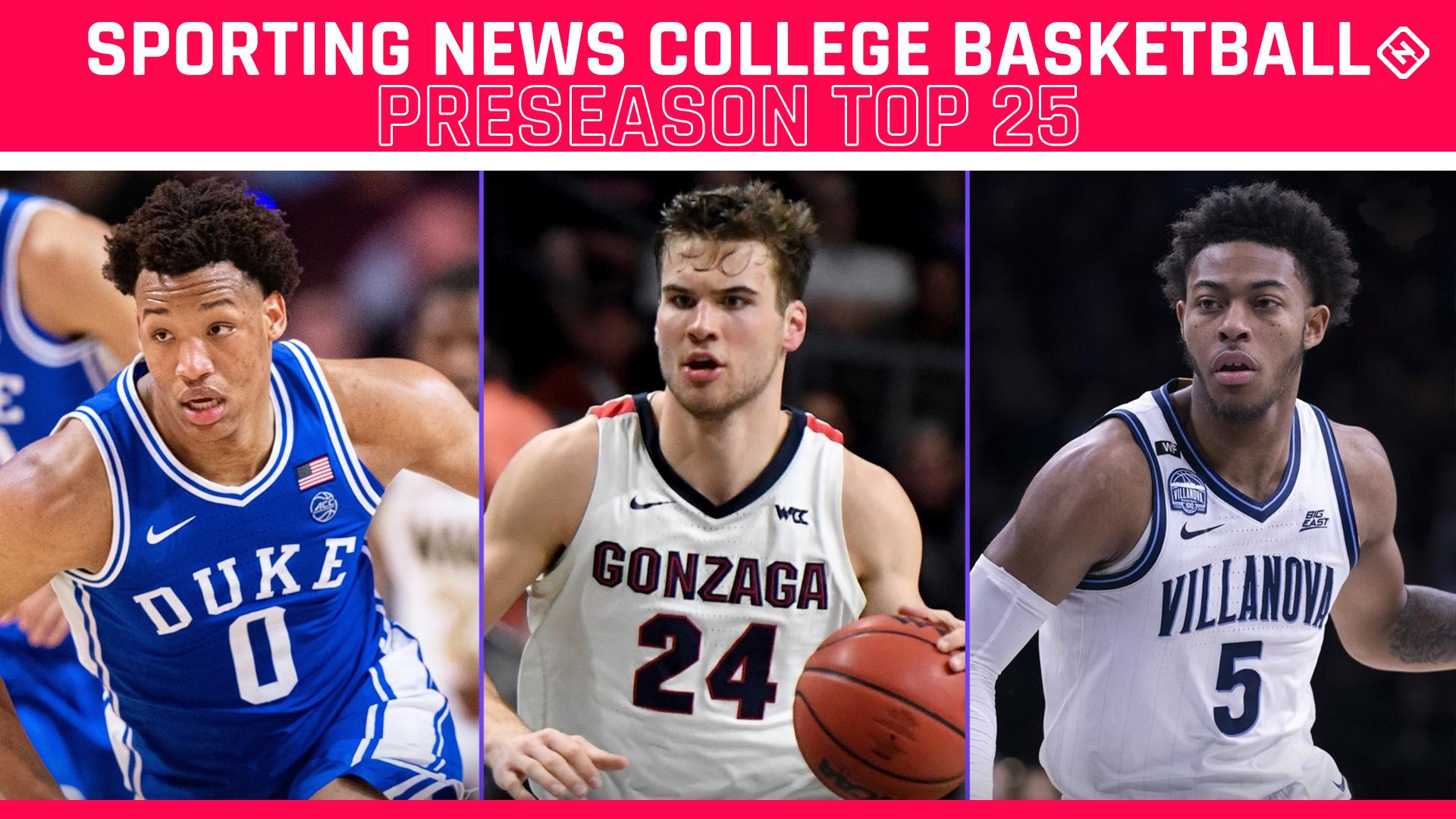 College basketball rankings: Sporting News' Preseason Top 25 for 2020-21 1