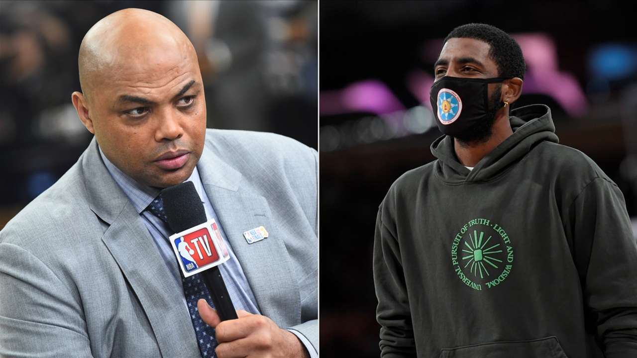 Charles Barkley and Kyrie Irving