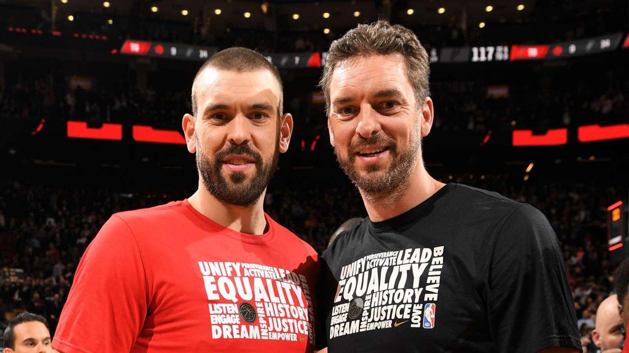 Pau & Marc Gasol Brothers