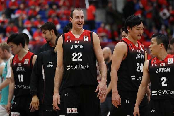 FIBAワールドカップでトルコ代表と対戦する日本代表