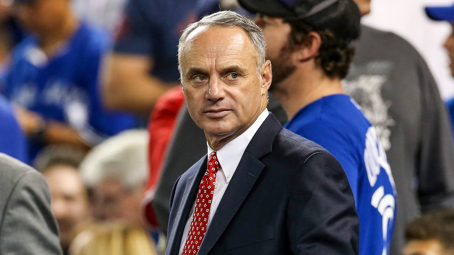 Rob Manfred says MLB season will continue because he 'isn't a quitter' 1