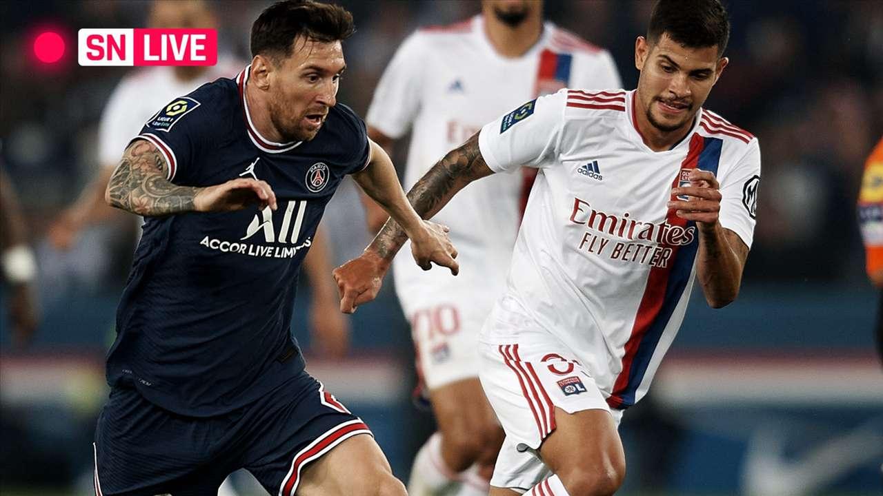 LIVE - Messi - Lyon - September 19, 2021