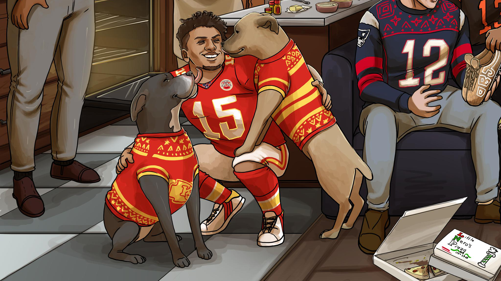 Nfl On Christmas 2020 Did this NFL Christmas graphic predict the 49ers and Chiefs would