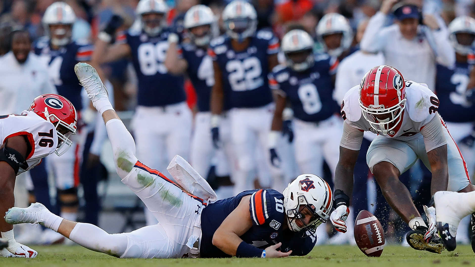 Score Of Georgia Auburn Game Today | gamewithplay.com