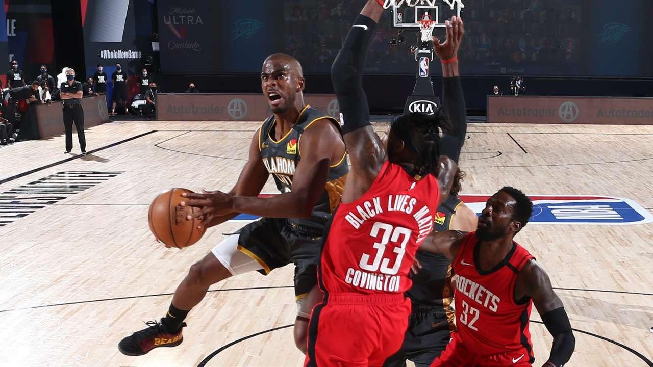 Chris Paul Thunder Rockets Game6